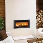Gazco Studio 2 Bauhaus Conventional Flue , High Efficiency (81%) Gas Fire .GS2CF