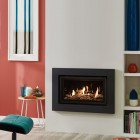 Gas Fire Gazco Studio 1 Balanced Flue 5.2kilo watt 92% Expression Glass Fronted. GS1bf