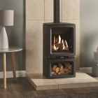Gas Stove Gazco Gas Vogue Midi Midline Balanced Flue, High Efficiency (75%) Contemporary Gas Stove.
