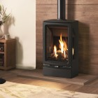 Gas Stove Gazco Gas Vogue Midi T Midline, High Efficiency (80%) 3 Sided Balanced Gas Stove.