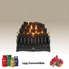 "Bottled Gas Fire (Convertible) The Robinson Willey Majestic 16"" Inset gas fire with lpg conversion kit Part No. 0595211"