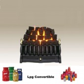 "Gas Fire The Robinson Willey Majestic 16"" Inset gas fire with lpg conversion kit Part No. 0595211"