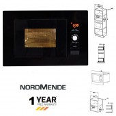 INTEGRATED Black Built In Microwave Oven : TGCNM823BBL