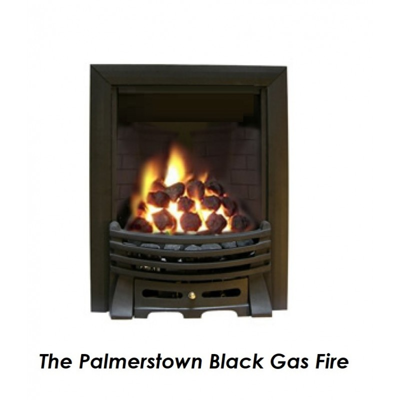 Lucan Gas Fire Tgc13035 High Efficiency Open Fronted