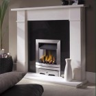 Gas Fire Cabra High Efficiency 67% Slimline Open Fronted Gas Fire. Ekofire 130203025