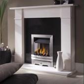 The Cabra High Efficiency Slimline Glass Fronted Gas Fire. Ekofire 130203025