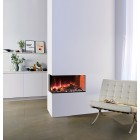Gazco eReflex 70W Left Corner 2-Sided Electric Fire