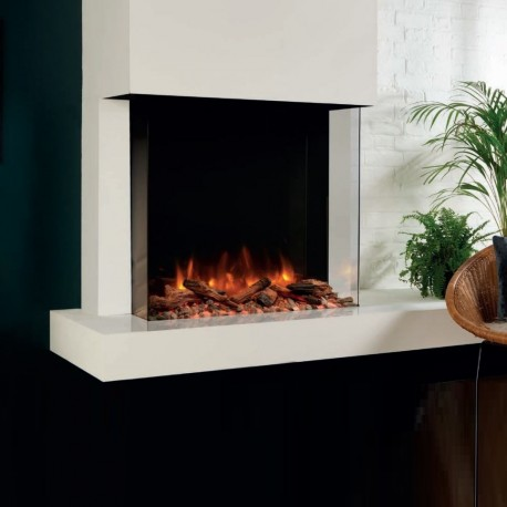 Awesome Gazco Skope 75W 3 Sided Square Wall Mounted Electric Fire Or Semi Recessible To Fireplace Skpw The Gas Company Download Free Architecture Designs Rallybritishbridgeorg