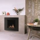 Gas Fire Gazco Riva2 600HL Verve XS High Efficiency (76%) Glass Fronted Chimney Gas Fire. GRV2600cf