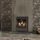 Gazco Logic Log HE CF Beat Inset High Efficiency (84%) Glass Fronted Gas Fire. NGLHE-CF