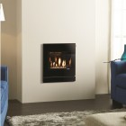Gazco Logic Coal HE CF Designio2 Glass, High Efficiency (89%) Glass Fronted Gas Fire. NGLHE-CF