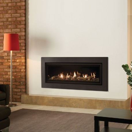 Gas Fire Gazco Studio Expression Balanced Flue High Efficiency 92% 7 kw Balanced Flue Gas fireplace Fire. GS2bf