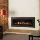 Gazco Studio 3 Expression Balanced Flue High Efficiency 92% 8.4KW Balanced Flue Gas fireplace Fire.GS3BF