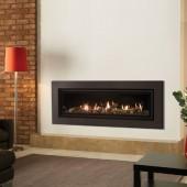 Gazco Studio 3 Balanced Flue Gas Fire with Expression Frame