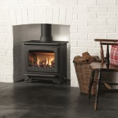 Gas Stove Gazco Marlborough2 Medium, High Efficiency (78%) Glass Fronted Freestanding Gas Stove.GSTCF