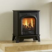 Gas Stove Gazco Stockton2 Small, High Efficiency (85%) Balanced Flue Gas Fire Stove.GSTBF