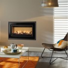 Gazco Studio 1 Slimline Zero Clearance Fire,Wall Box & Frame kit, High Efficiency 82% 4.25 kw Balanced Flue Gas Fire GS1SLIM