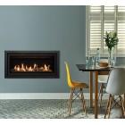 Gazco Studio 2 Slimline Balanced Flue Gas Fire with Profil Frame