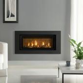 Gazco Studio 2 Slimline Balanced Flue Gas Fire with Expression Frame