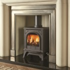 Gazco Huntingdon 20 Small Clear Door, High Efficiency (76%) Gas Stove. GSTCF