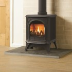 Gazco Huntingdon 20 Clear Glass, High Efficiency (85.1%) Balanced Flue Gas Stove. GSTBF