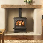 Gas Stove Gazco Huntingdon 30, High Efficiency (95.1%) Balanced Flue Gas Fire Stove.