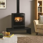 Gazco Riva Vision Medium, High Efficiency (90%) Balanced Flue Gas Stove.GSTBF
