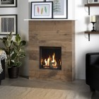 Gazco Riva2 400 Edge High Efficiency (77%) Conventional Flue Gas Fire. GRV2400cv