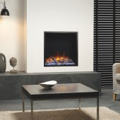 Gazco Skope 55R Inset Electric Fire Frameless Built-in Electric Log Effect Fire