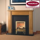 "Bottled Gas 16"" Coal Effect Gas Fire, manual control MagiGlo Premos L. Suitable for a standard milner 16"" backbrick. MG-PR16L"