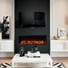 "eReflex 105r Gazco Skope 105R Electric Feature Wall fire, Built In Electric Log Effect Fire,2kw heater (55"" TV Size)"