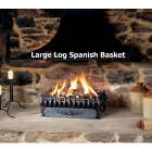 Large Gas Log Spanish Basket Fire The Gazco Large Spanish Gas Log Effect fire Basket . Basket Size 525*235*369mm