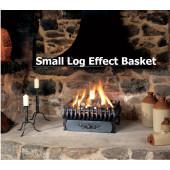 Small Log Gas Spanish Basket Fire The Gazco Small Spanish Gas Log Effect fire Basket . Basket Size 447*235*369mm