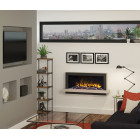 """Wall Mounted Electric Fireplace Suite 1033mm Pryzm Huxton 41"""", Electric Fire with Led Vari-colour Flame (ECO DESIGN 2019)"""