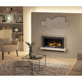 Electric Fire Pryzm Huxton 41, Electric Fire with Vari-colour Flame