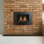 Gas Fire Gazco Riva2 500 Verve XS High Efficiency (75%) Glass Fronted Conventional Flue Chimney Gas Fire. GRV2500cf