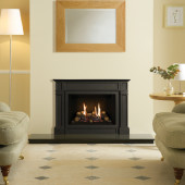 Gas Fire Gazco Riva2 500 Ellingham High Efficiency (75%) Glass Fronted Chimney Gas Fire. GRV2500cf