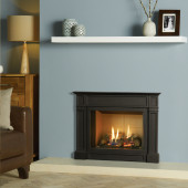 Gas Fire Gazco Riva2 500 Ellingham High Efficiency (86%) Balanced Flue Gas Fire. GRV2500bf