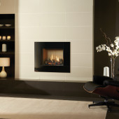 Gazco Riva2 500 Icon High Efficiency (86%) Balanced Flue Gas Fire. GRV2500bf