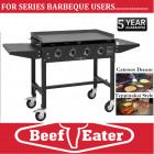 BeefEater BBQ Clubman TGC16640 4 Burner Teppanyaki Painted Mild Steel EVENTS BBQ,SCHOOL BBQ, GAA CLUB BBQ, RUGBY CLUB BBQ.