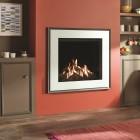 Gas Fire Gazco Reflex 75T Evoke Glass, High Efficiency (83%) Balanced Flue Gas Fire.