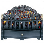 Electric Inset Fire Burley Halstead 2kw Heat Output Basket Fire