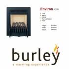 Flueless Gas Fire Burley Environ Inset Flueless Gas Fire Black Easy Slide Control