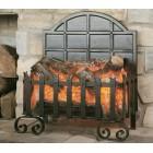 Electric Inset Basket Fire Burley Lyddington Forge