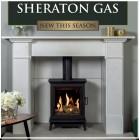 Free Standing Balanced Flue Gas Stove Gazco Sheraton 5