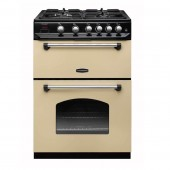 Gas Cooker 60cm Gas Rangemaster Classic 60CR Freestanding Double Oven (LPG Convertible)
