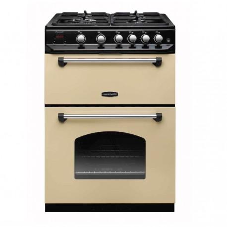 Gas Cooker 60cm Gas Rangemaster Classic 60CR Freestanding Double Oven (LPG Convertible)