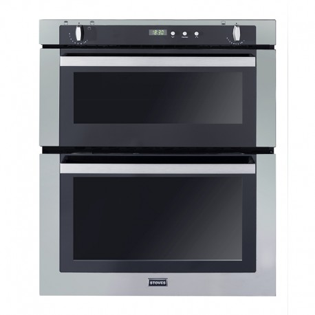 Gas Oven SGB700 Single Cavity Built In Gas Oven With Electric Grill In Stainless Steel