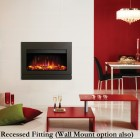 Gazco Riva2 670 Designio2 Graphite Electric Fire