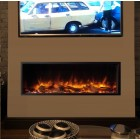 Gazco eReflex 105r Skope 105R Electric Feature Wall fire, Built In Electric Log Effect Fire,2kw thermostatic remote heater SKPi